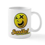 Shocking Smiley Mug