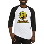 Shocking Smiley Baseball Jersey