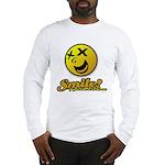 Shocking Smiley Long Sleeve T-Shirt