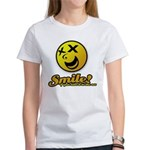 Shocking Smiley Women's T-Shirt