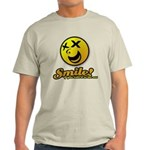 Shocking Smiley Light T-Shirt