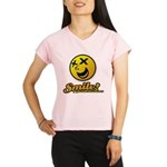 Shocking Smiley Performance Dry T-Shirt