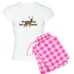 Redneck Hunter Humor Women's Light Pajamas