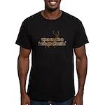 Redneck Hunter Humor Men's Fitted T-Shirt (dark)