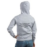 Nod (Kane Quote Back) Zip Hoodie