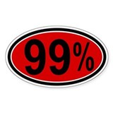 99 Percent Decal