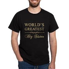 World's Greatest Big Sister T-Shirt