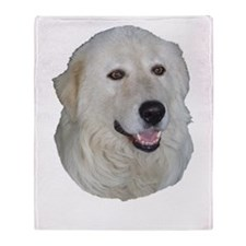 Maremma Sheepdog Throw Blanket