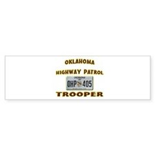 Oklahoma Highway Patrol Bumper Sticker