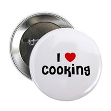 "I * Cooking 2.25"" Button (10 pack)"