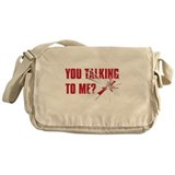 TALKING TO ME? Messenger Bag