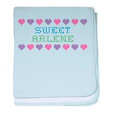 Sweet ARLENE baby blanket