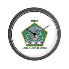 DUI-OHIO ANG WITH TEXT Wall Clock