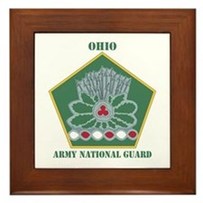 DUI-OHIO ANG WITH TEXT Framed Tile