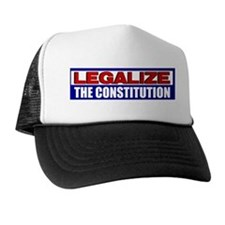 """Legalize The Constitution"" Trucker Hat"