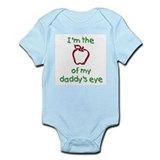Apple of Daddy's Eye (red) Infant Creeper