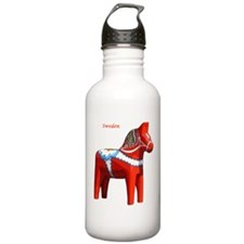 Dala Horse Water Bottle