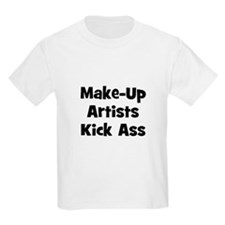 Make-Up Artists Kick Ass Kids T-Shirt