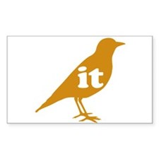 IT ON A BIRD Decal