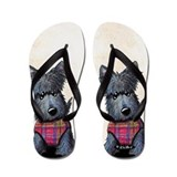 Scotty dog flip Flip Flops