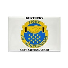 DUI-KENTUCKY ANG WITH TEXT Rectangle Magnet (10 pa