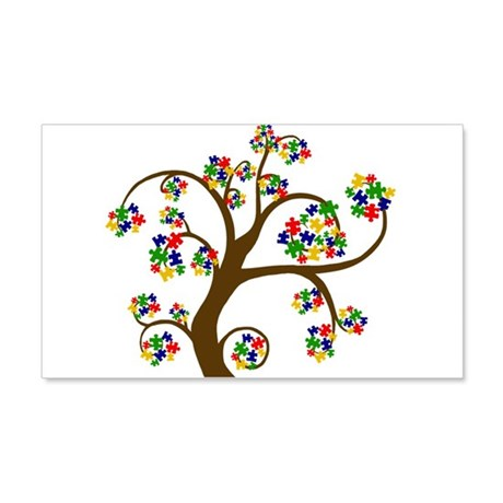 Autism Tree of Life 22x14 Wall Peel