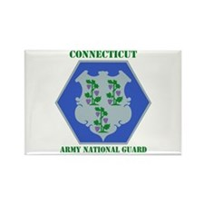 DUI-CONNECTICUT ANG WITH TEXT Rectangle Magnet (10