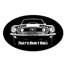 How I Roll - Mustang Boss Decal