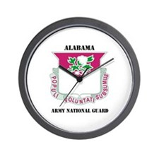 DUI-ALABAMA ANG WITH TEXT Wall Clock