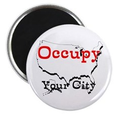 Custom Occupy Your City Magnet