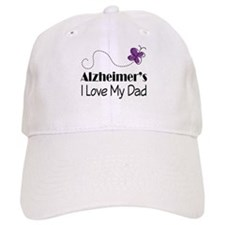 Alzheimer's Love My Dad Baseball Cap