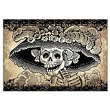 Funny Calavera Wall Art
