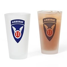 Cute Army divisions Drinking Glass