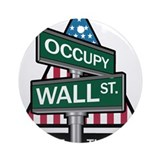 Occupy Wall Street - We Are The 99% Ornament (Roun