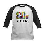 80s Geek Kids Baseball Jersey