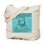 Tote Bag featuring pious Scotty