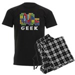 80s Geek Men's Dark Pajamas
