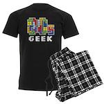 80s Geek Men's Dark Pajamas