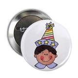 Boy Birthday Button (dark hair)