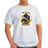 USS Vancouver Decomm LPD 2 Ash Grey T-Shirt