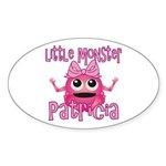 Little Monster Patricia Sticker (Oval)