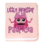 Little Monster Patricia baby blanket