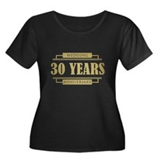 Stylish 30th Wedding Anniversary T