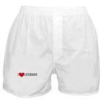 I Love Lesbians Boxer Shorts