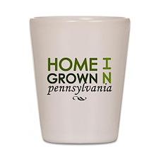'Pennsylvania' Shot Glass
