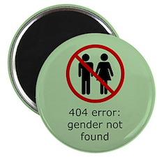 """Gender Not Found 2.25"""" Magnet (10 pack)"""