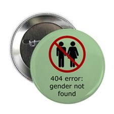 "Gender Not Found 2.25"" Button (10 pack)"