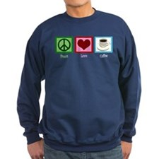 Peace Love Coffee Sweatshirt