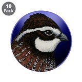 "Bobwhite Quail 2 3.5"" Button (10 pack)"