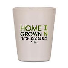 'Home Grown In NZ' Shot Glass